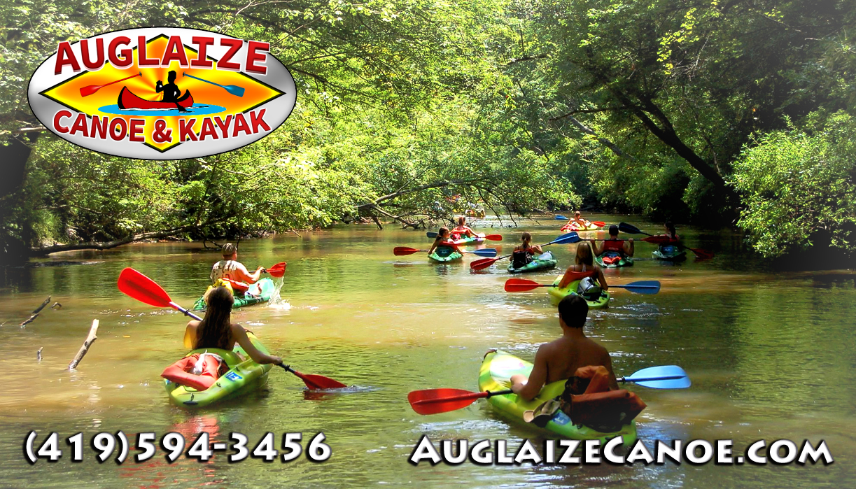 Auglaize Canoe & Kayak, 24687 RD 207 , OAKWOOD, OHIO, 45873, USA
